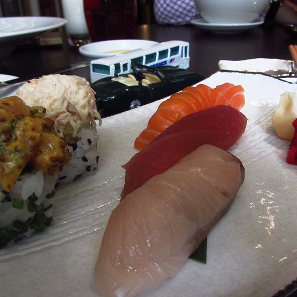 Maze Grill Sushi Platter @ Maze Grill