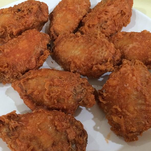 Prawn Paste Chicken Wings