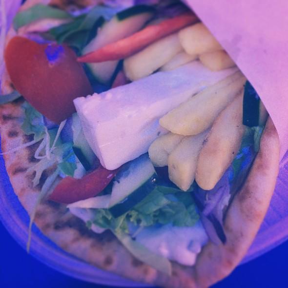 Pita Vegetariana @ Agapimu
