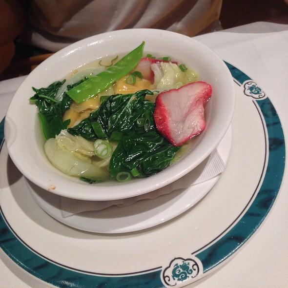 Won Ton Soup - Dragon Noodle Co. - Monte Carlo, Las Vegas, NV
