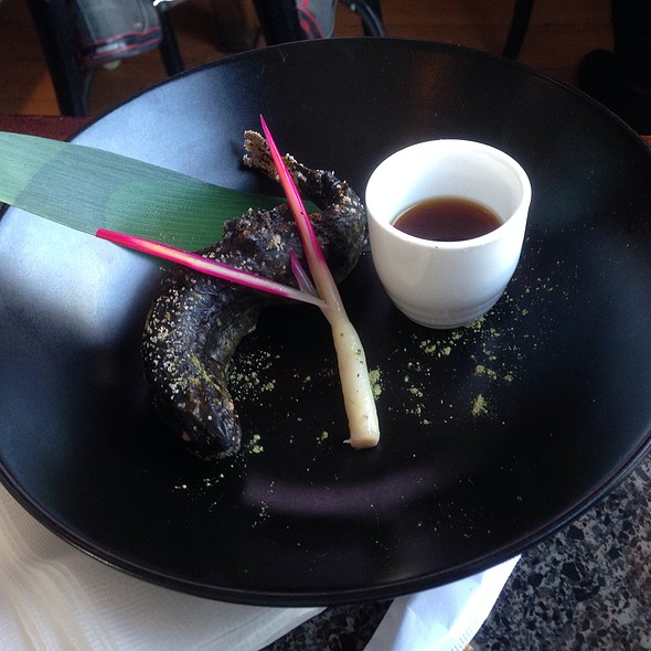 "Green Tea Salt Grilled ""Iwana"" Char Fish"
