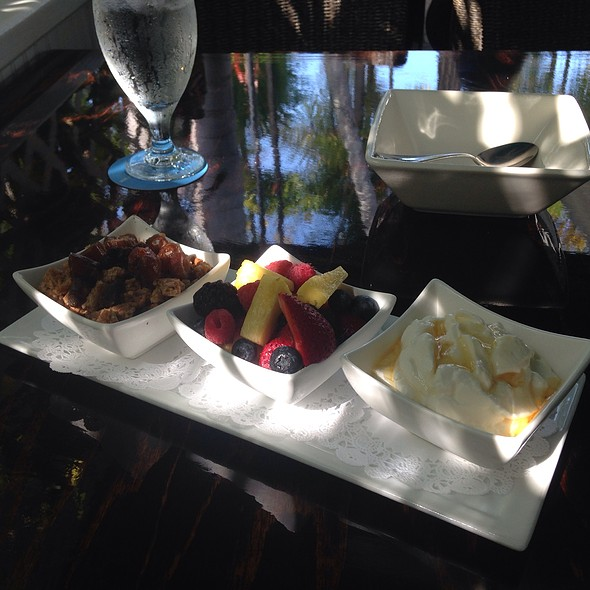 Greek Yogurt, Seasonal Fruit & Granola - Azur, Key West, FL