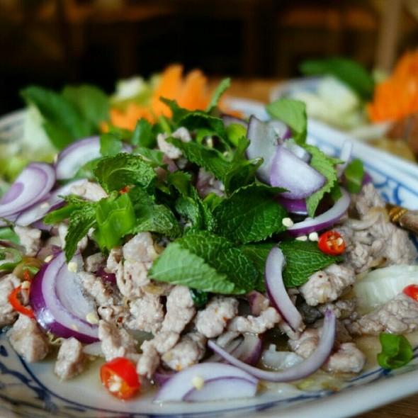 Larb Poukhoun @ Poukhoun Laotian Restaurant