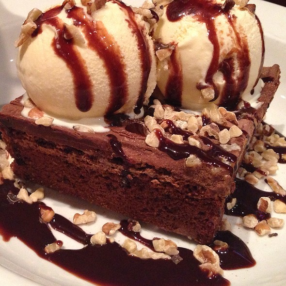 Chocolate Brownie Sundae