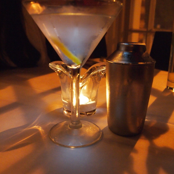 Dry Martini @ Noble Fare