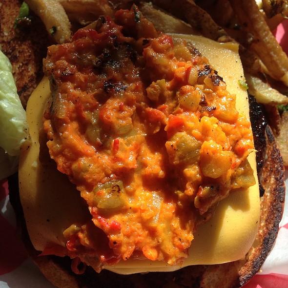 Green Chile Burger - AG Kitchen, New York, NY