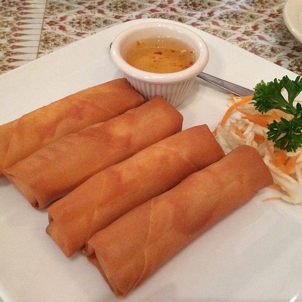 Cheese Rolls @ Thai House Restaurant
