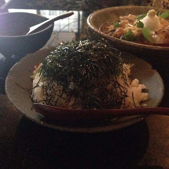 Garlic Fried Rice - EN Japanese Brasserie, New York, NY