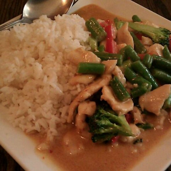Peanut Curry With Chicken @ Oslo