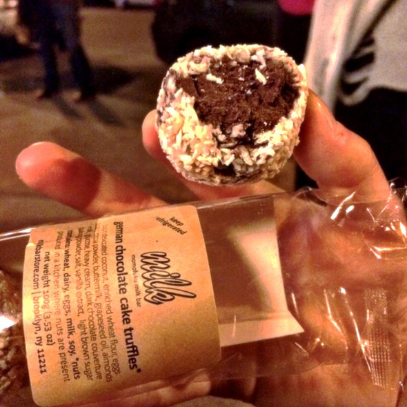 German Chocolate Cake Truffles @ Momofuku Milk Bar