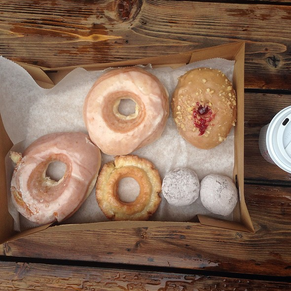 Assorted Doughnuts @ Doughnut Vault