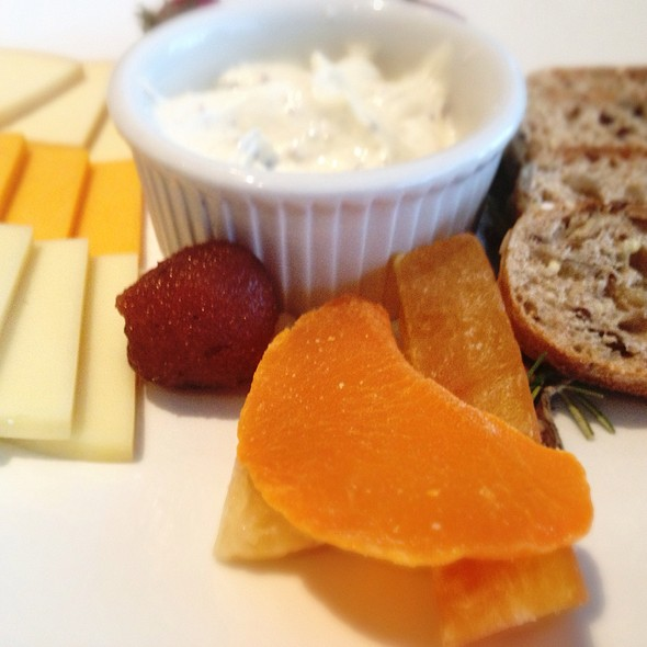 Cheese Plate @ Carnegie Cafe