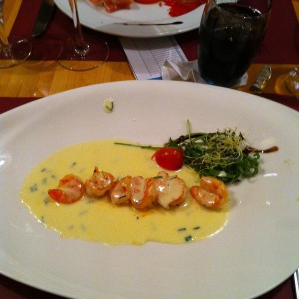 Spiedini Luna @ Restaurant Serenata