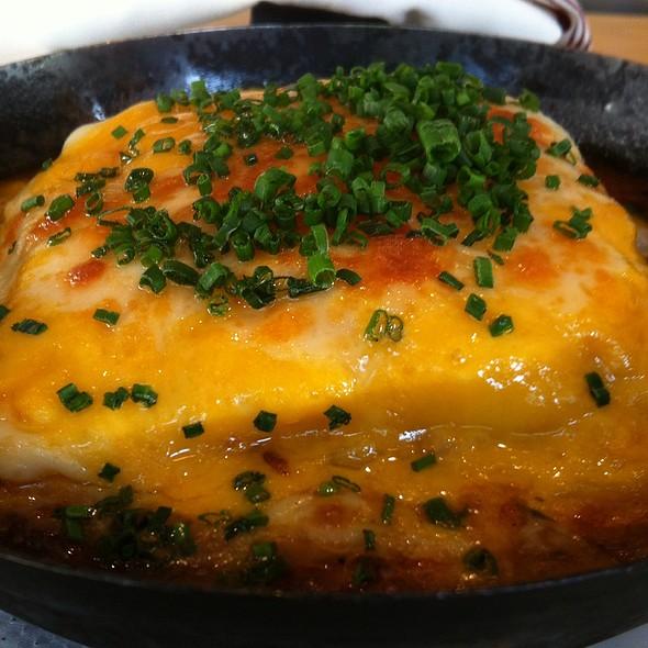 Beef Brisket Shepard Pie: Cheddar, Tomato Ragu @ Gigi BBQ•Noodles•Beer