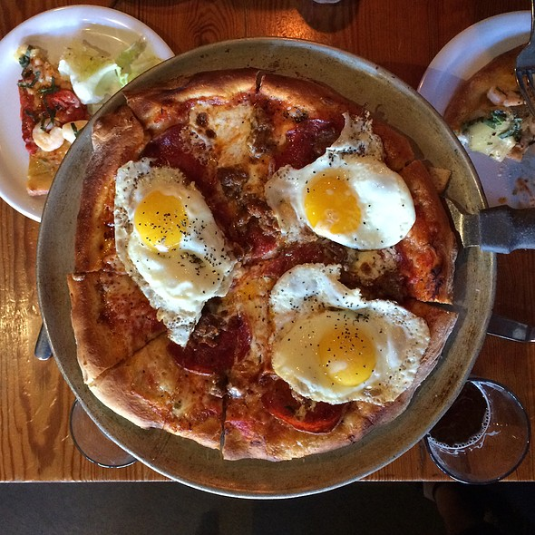 Mia Pizza With Egg - Pitch Pizzeria - Dundee, Omaha, NE