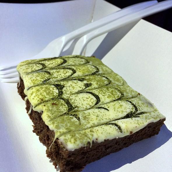 Matcha Green Tea Brownie @ Kichen Covo