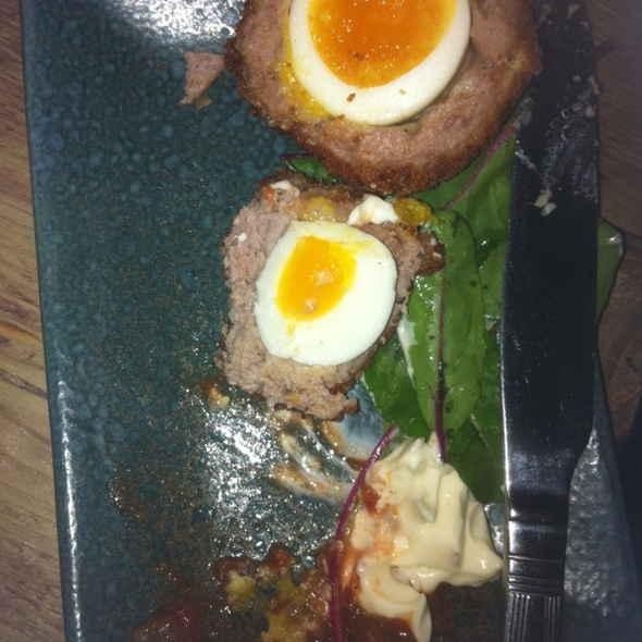 Scotch Eggs @ Mullligans