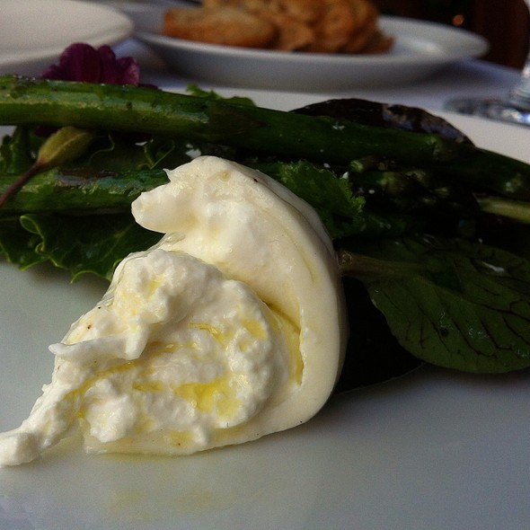 Cheese And Asparagus - CinCin Ristorante + Bar, Vancouver, BC