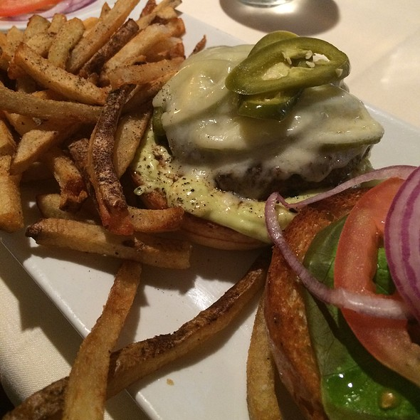 Jalapeno Burger - Firestone's, Frederick, MD