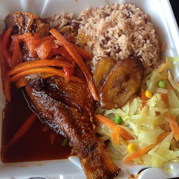 Tamarind Fish @ Mango's Jamaican Kitchen & Grill