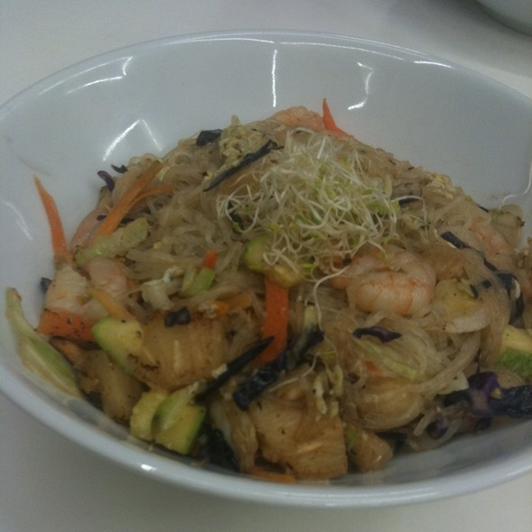 Shrimp Noodles @ I Love Wok