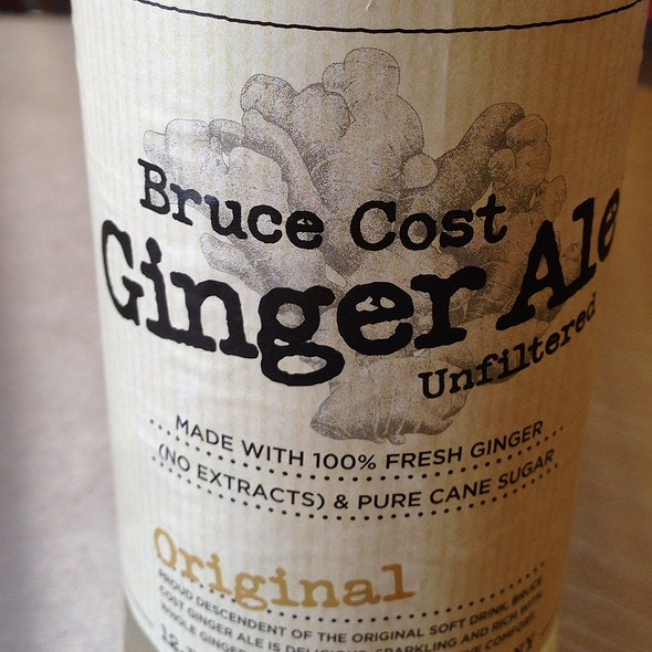 Bruce Cost Ginger Ale Unfiltered
