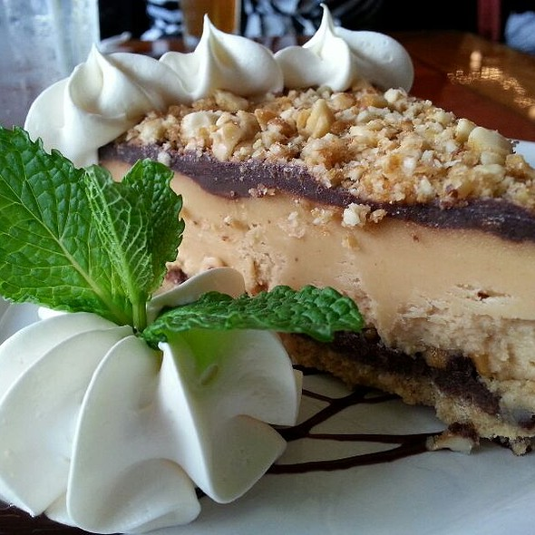 Homade Chocolate Peanut Butter Pie - Lynnhaven Fish House, Virginia Beach, VA