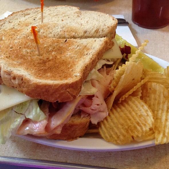 Turkey Special Sandwich @ Crown Candy Kitchen