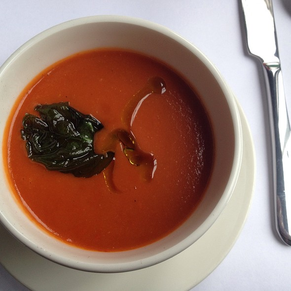 Tomato Soup - Serafina, Seattle, WA
