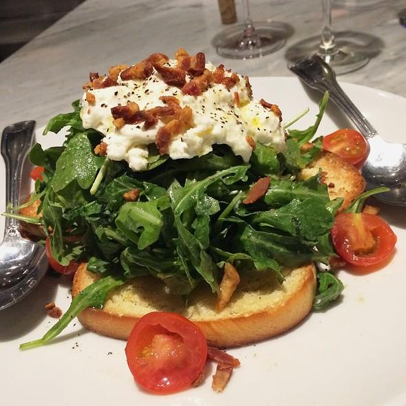 buratta salad @ Vino At Trios