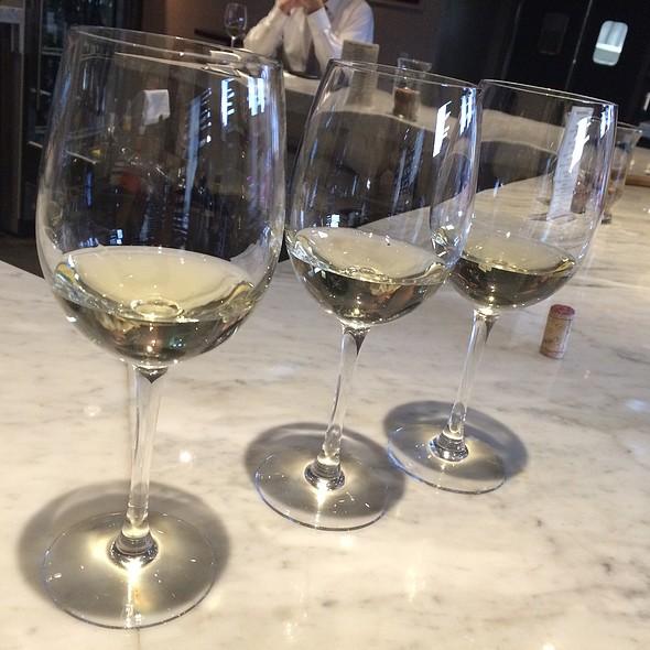 3 Cool White Wines Flight - Vino at Trios, Alhambra, CA