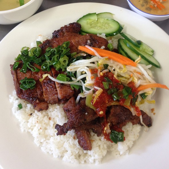 Broken Rice With Pork Chop  @ Tan Thanh Loi