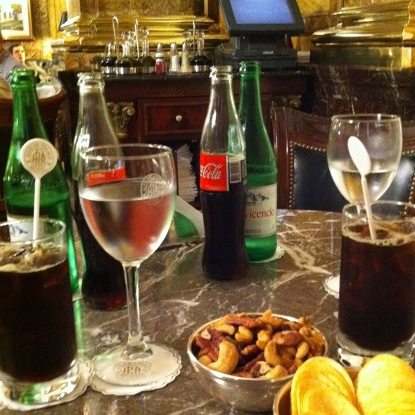 Fernet And Coke @ Alvear Palace Hotel