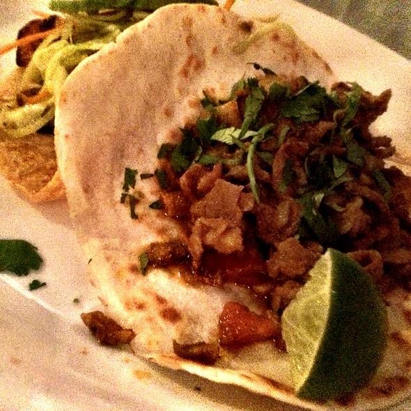 Tacos - El Alma Cafe y Cantina, Austin, TX