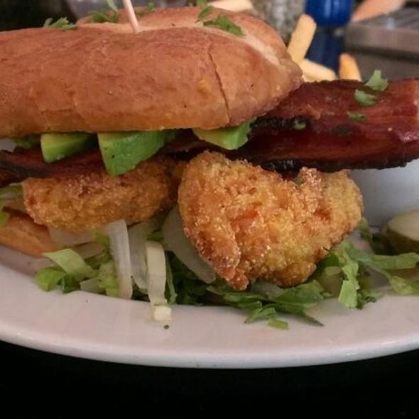 Shrimp Po' Boy - The Porch Restaurant & Bar - Sacramento, Sacramento, CA