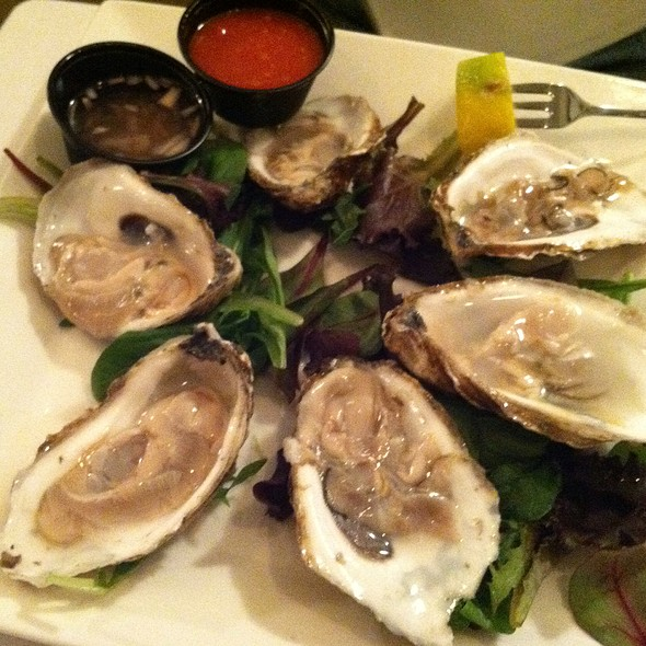 Beavertail Oysters from Narragansett Bay, RI - Back Burner Restaurant, Hockessin, DE