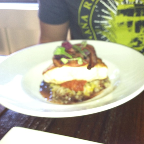 Pan Seared Seabass - Succulent Cafe, Solvang, CA