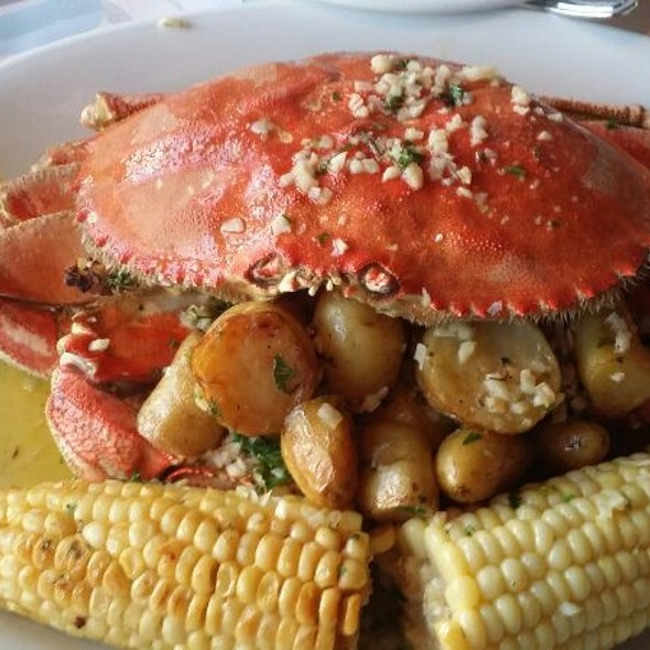 Garlic Roasted Dungeness Crab @ Fog Harbor Fish House