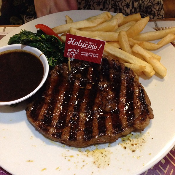 Wagyu Rib Eye @ Steak Hotel by Holycow