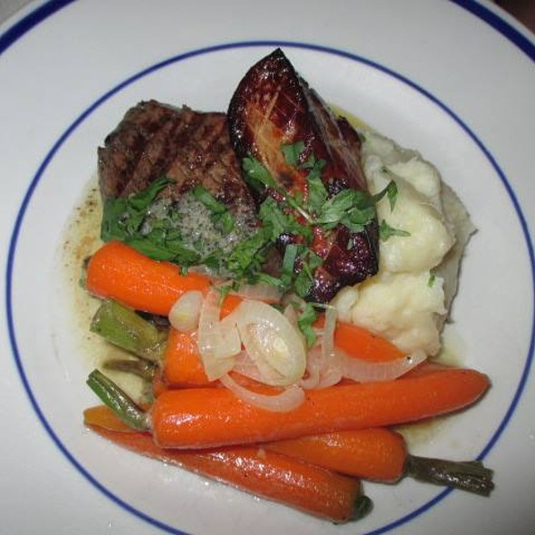 Filet Mignon with Foie Gras - Spring Mill Cafe, Conshohocken, PA