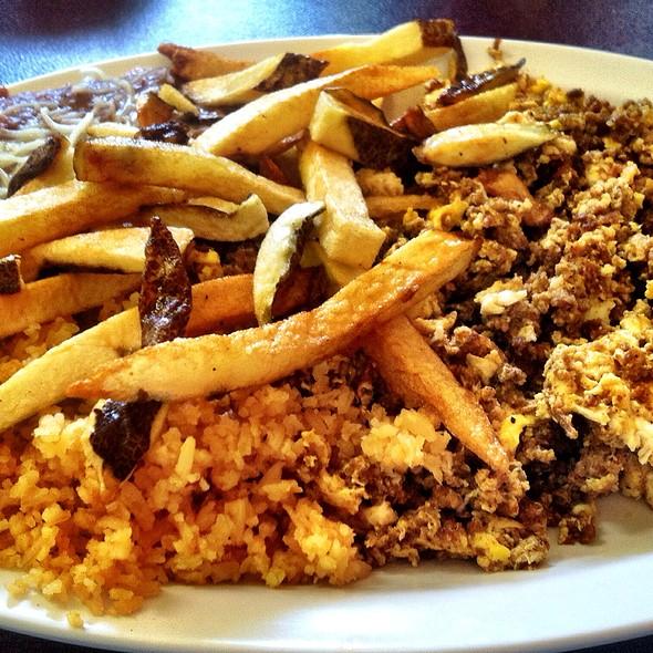 Chorizo Scramble @ Mazatlan Cafe
