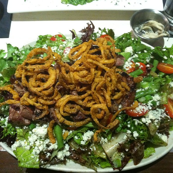 Steak Tip Salad - J Morgan's Steakhouse, Montpelier, VT
