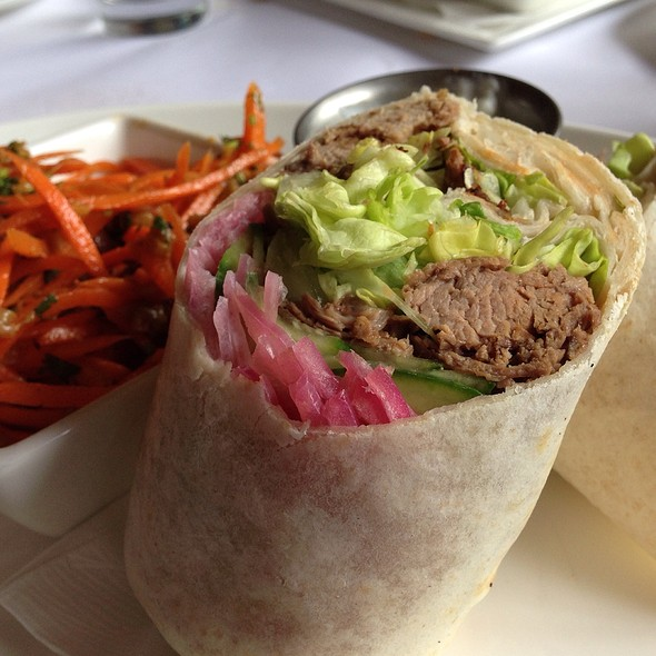 Lamb Wrap - VILLAGE California Bistro & Wine Bar, San Jose, CA