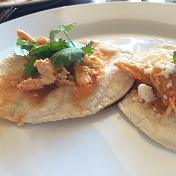 Chicken Tacos @ Cantinetta
