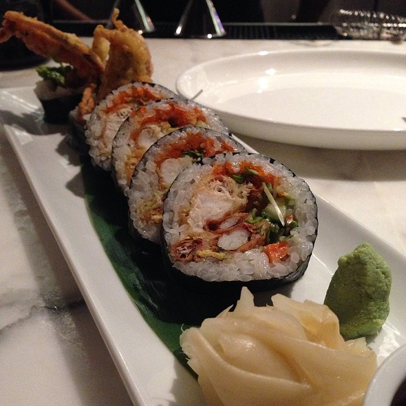 Spider Roll - Chaya Downtown, Los Angeles, CA