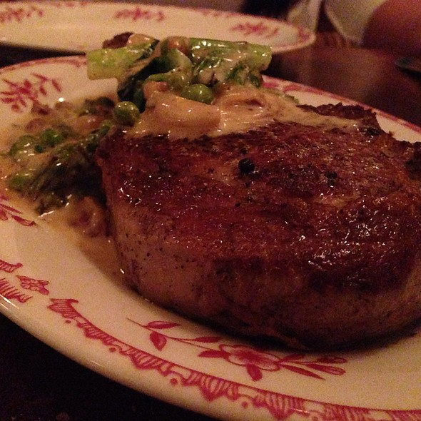 Veal Chop @ Lucia