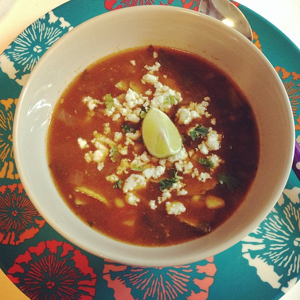 Tortilla Soup @ The Mistress Of Spices (Chez Moi)