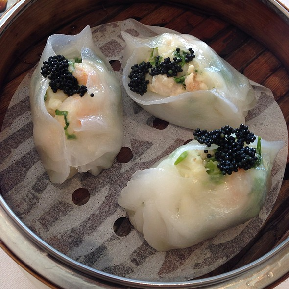 Scallop And Chive Dumplings @ Dynasty Seafood Restaurant