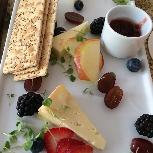 Cheese Plate - TJ's at The Jefferson Hotel, Richmond, VA