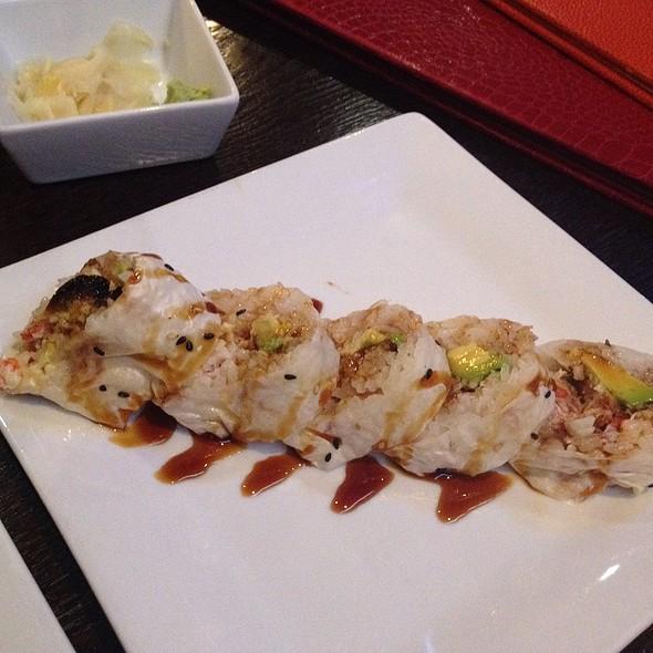 Baked Crab Roll Sushi - Arashi Sushi, Los Angeles, CA
